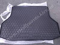 Коврик в багажник CHEVROLET Lacetti седан (AVTO-GUMM) пластик+резина