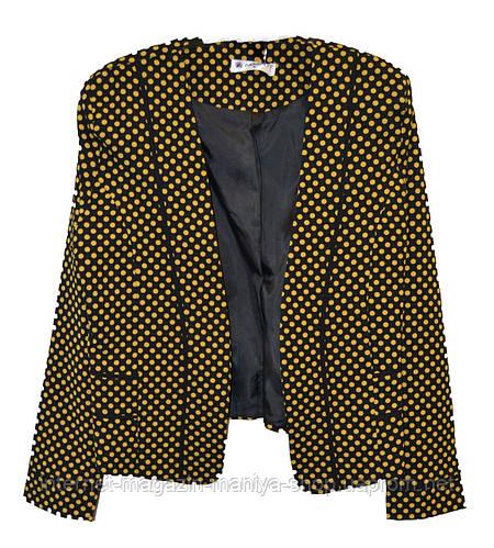 Пиджак женский горох
