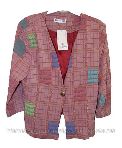 Пиджак женский квадраты