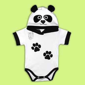 Боди Панда Малыш 68 - 80 см