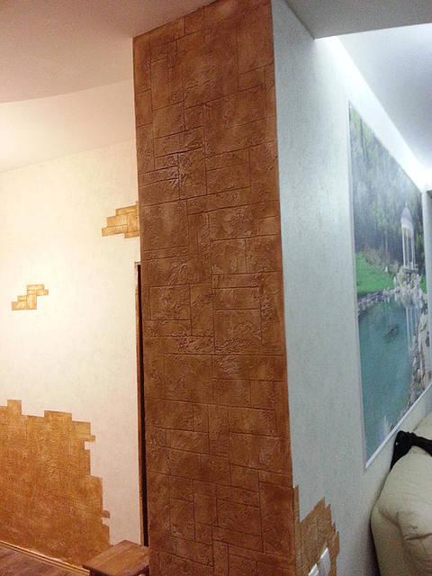 Декоративная штукатурка под натуральный камень материал Структура 10