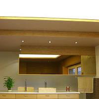 Полупрозрачный натяжной потолок 2,0м, фото 1