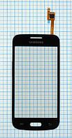 Тачскрин сенсорное стекло для Samsung G3502(G3502U) / G3508 / G3509 Galaxy Trend 3 Black / Grey