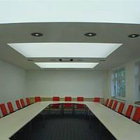 Полупрозрачный натяжной потолок 3,2м, фото 1