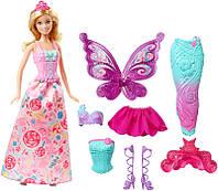 Кукла Барби Сказочное перевоплощение Fairytale Dress Up Barbie DHC39
