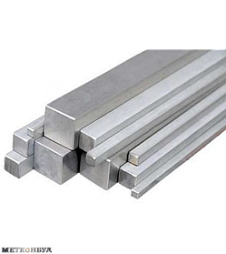 Квадрат алюминиевый АД31 10х10 мм