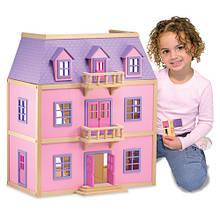 Многоэтажный деревянный домик