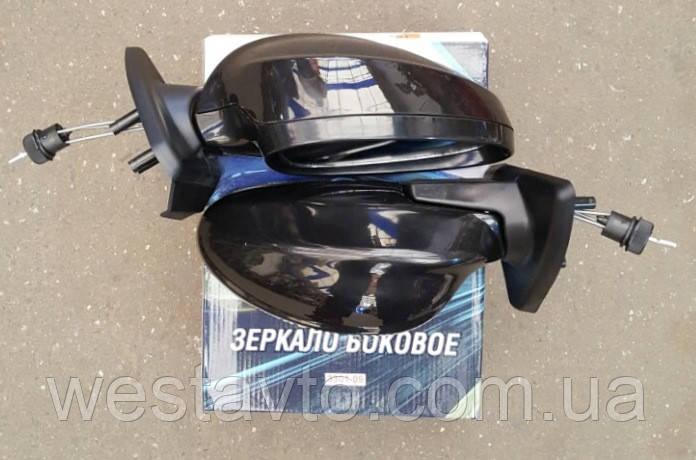 Зеркало боковое, ВАЗ 2108-09, черное 3301-09, 2шт <TEMPEST>