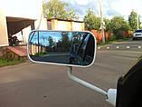 Дзеркало бокове,універсальне, F1 чорне, 2шт , фото 3