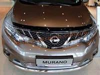 Дефлекторы капота Sim  для Nissan Murano 2008-14
