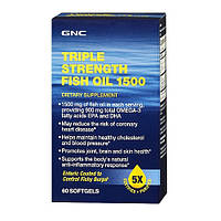 Защита всего организма Triple Strength Fish Oil 1500 (60 softgels)