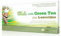 Цла с зеленым чаем и эль-карнитином CLA with Green Tea plus L-Carnitine Sport Edition (60 caps)