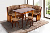 """Кухонный комплект """"Канзас"""" (уголок, стол, 2 табурета) Микс Мебель, фото 1"""
