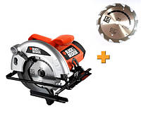 Дисковая пила Black&Decker CD601A