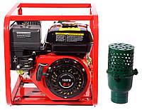 Мотопомпа бензиновая WEIMA WMQBL65-55 (36 м.куб/час, высоконапорная - 60 м) + доставка