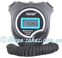 Секундомер электронный спортивный Junso: будильник + часы