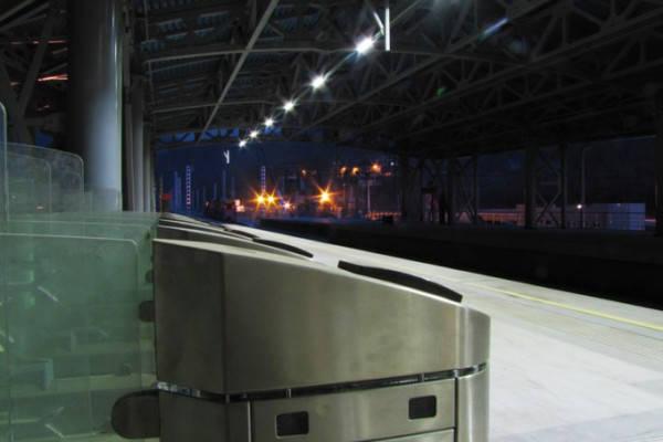 Эсто-Садок, Железнодорожная станция