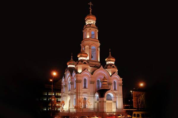 "Екатеринбург, храм ""Большой Златоуст"""
