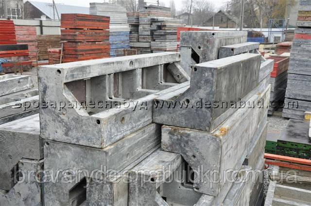 Облегченная опалубка для прямоугольных колонн из бетона