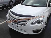 Дефлекторы капота Sim для Nissan Teana седан 2014+ \ Nissan Altima 2014+
