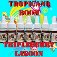 Премиум жидкость для электронных сигарет eLife TROPICANO BOOM Small Package 5ml Tripleberry Lagoon, 3 мг/мл