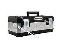 """Ящик для инструмента 20"""" профессиональный """"Stanley"""" металлопластмассовый гальванизированный Stanley 1-95-618"""