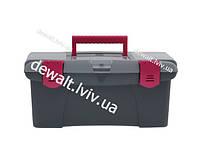 """Ящик для инструмента """"Jumbo D.I.Y. Collection"""" пластмассовый с пластмассовыми замками Stanley 1-97-490"""