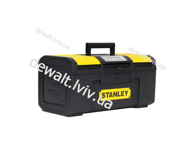"""Ящик для инструмента """"Stanley Basic Toolbox"""" пластмассовый 19"""" 1-79-217 - ЧП «Интердеталь» - спецкрепеж, такелаж, рукава, шланги. в Полтаве"""