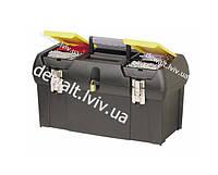 """Ящик для инструмента серии 2000 пластмассовый с 2-мя встроенными органайзерами, лотком и металлическими замками 19"""" Stanley 1-92-066"""