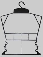 Плечики вешалка Рамка детская 3 сорта