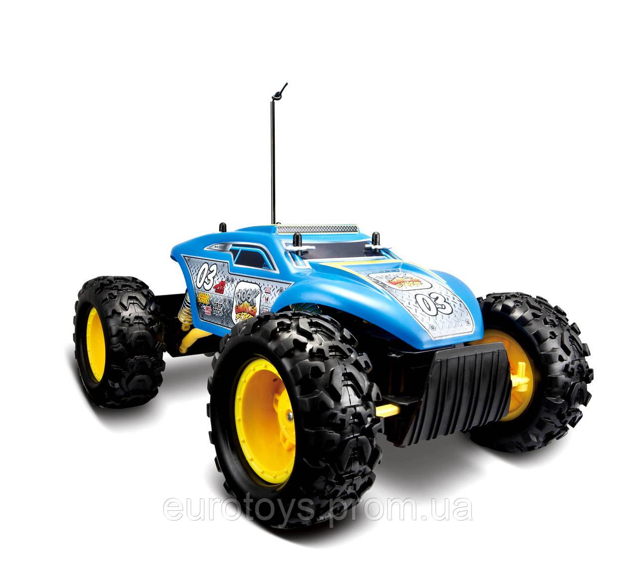 MAISTO TECH Автомодель  на р/у  Rock  Crawler Extreme синий  (81156)