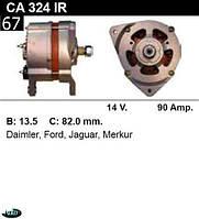 Генератор Ford Scorpio Sierra 90Amp. CA324IR