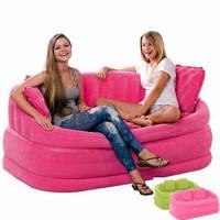 Надувной диван 68573 INTEX   Розовый