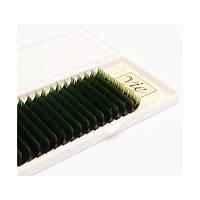 Ресницы черно-зеленые С 0,15 -10 мм