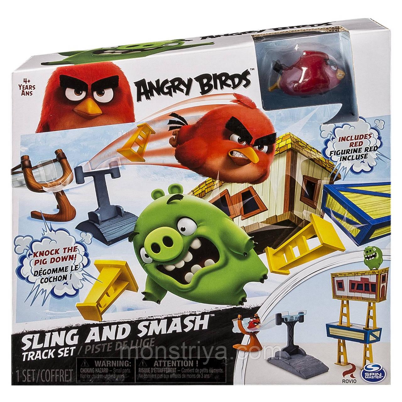 Энгри Бердс Игровой набор с пусковым устройством,Angry Birds