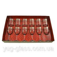 """Набор 12 предметный TL31-163/405 рисунок """"Флорис""""(бокалы для вина и стаканы для виски)."""