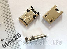 Роз'єм гніздо micro USB Asus MeMO Pad 10 МЕ302С