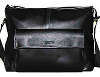 Кожаная мужская сумка Mk20.1 черная
