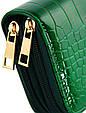 Багатофункціональний гаманець зі штучної шкіри Traum 7201-04, зелений, фото 2
