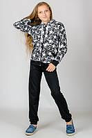 Детский спортивный костюм Звезды (черный)