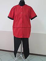 Форма для поваров, поварская одежда, китель и брюки кулинара