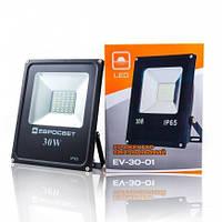 Светодиодный прожектор EVRO LIGHT 30Вт EV-30-01 6400K 2400Lm SanAn SMD