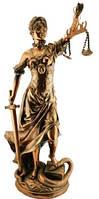 Статуэтка Фемида латунь