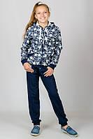 Детский спортивный костюм Звезды (темно-синий)