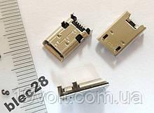 Разъем гнездо micro USB Asus K00A, К00F, K005