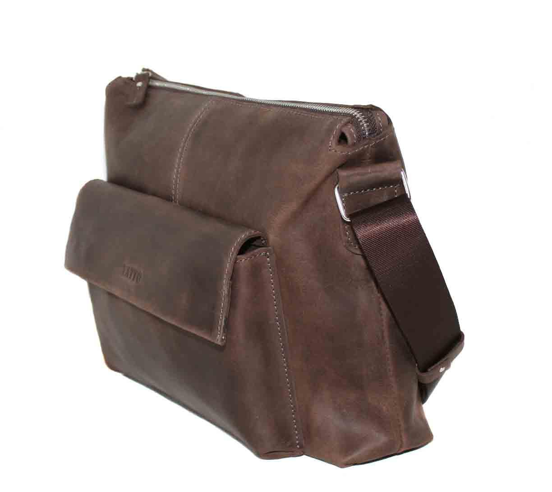 f3a35d7de7d5 Кожаная мужская сумка Mk20.1 коричневая , цена 2 195 грн., купить в  Черкассах — Prom.ua (ID#370430102)