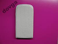 Чехол-книжка Samsung I8262 белый