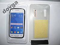 Чехол силиконовый Capdase Samsung G313H + пленка