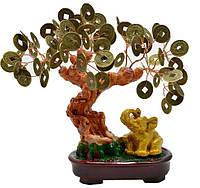 Денежное дерево со слоником 18х18