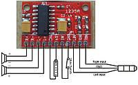 Мини-усилитель аудио,стерео 2х3Вт PAM8403 NEW! v.2
